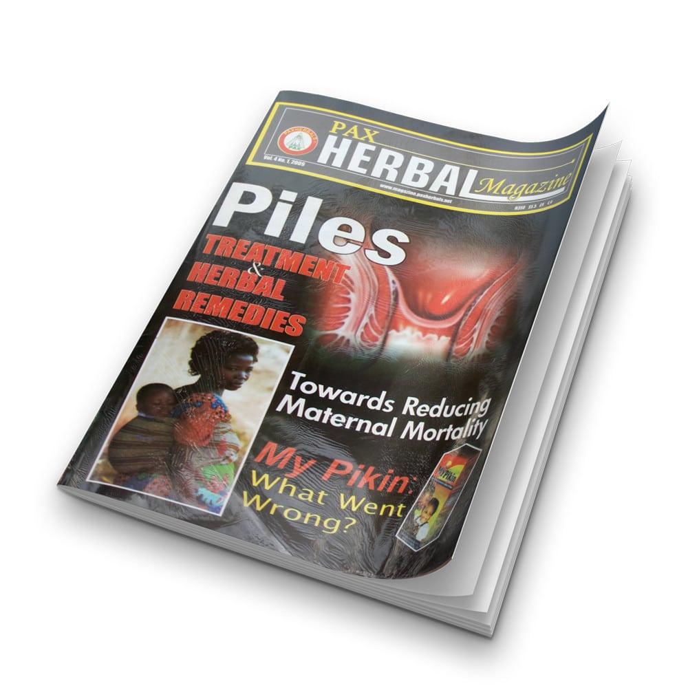 Paxherbal magazine (Piles) product image